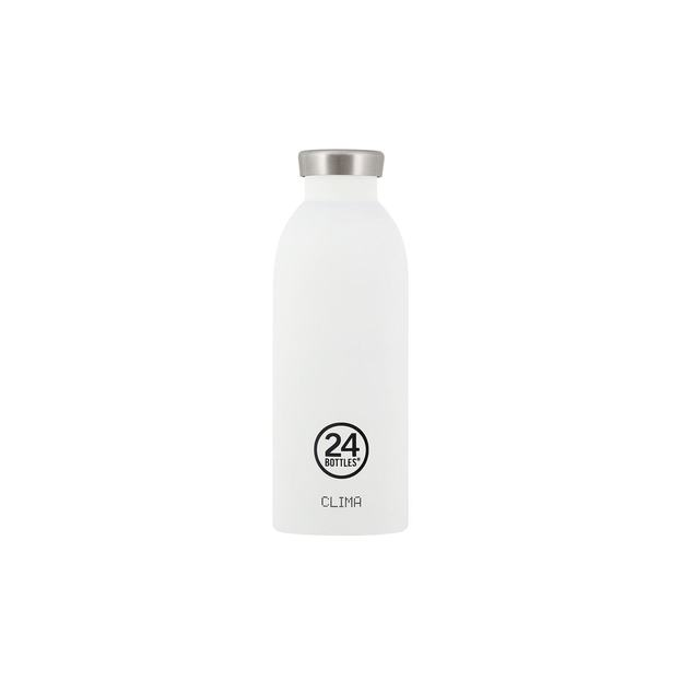 24Bottles Bouteille isotherme Clima 500ml, blanc
