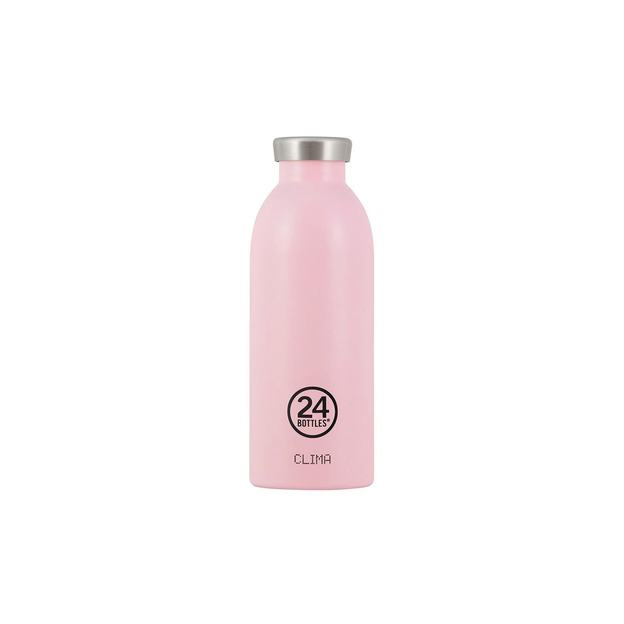 24Bottles Trinkflasche Clima 500ml Candy Pink