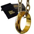 Herr der Ringe Der Eine Ring vergoldet