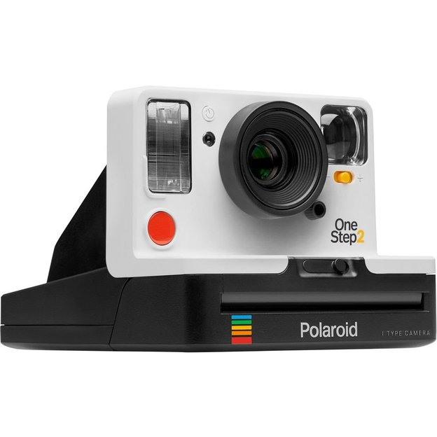 polaroid onestep 2 kamera weiss. Black Bedroom Furniture Sets. Home Design Ideas