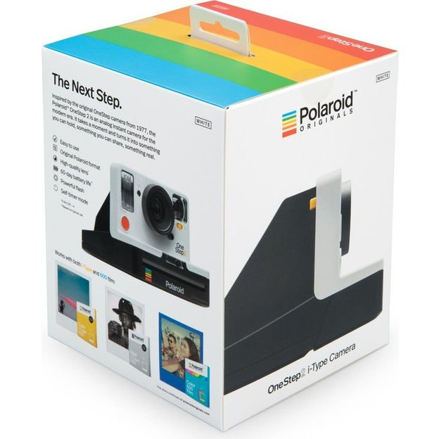 Appareil photo Polaroid One Step 2 - blanc