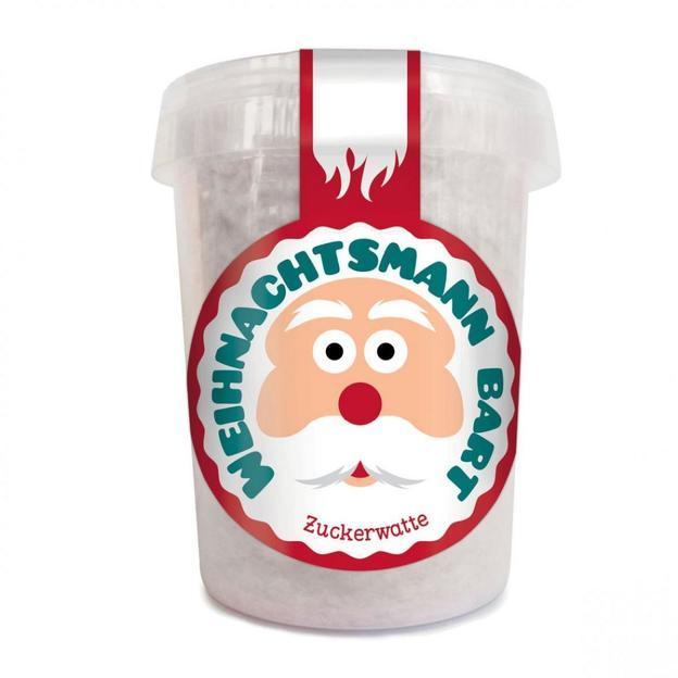 Zuckerwattebart vom Weihnachtsmann