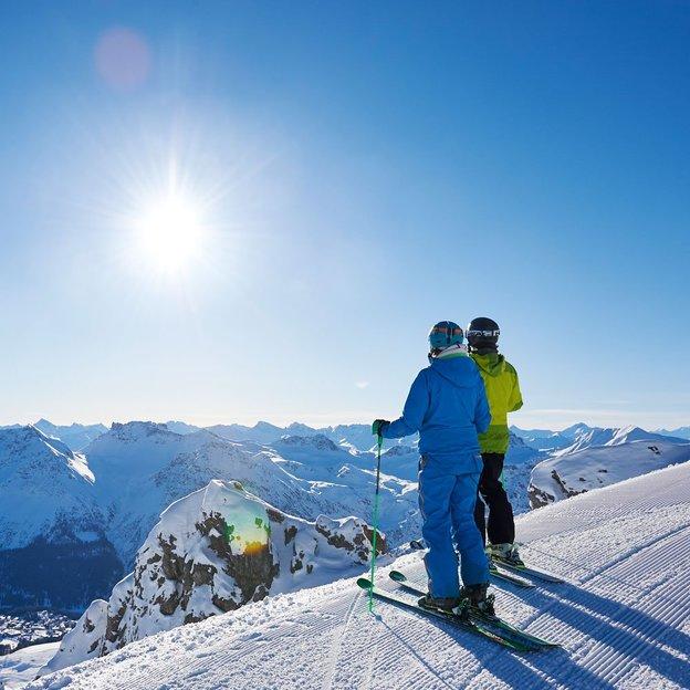 Plaisirs d'hiver à Arosa (2 pers.)