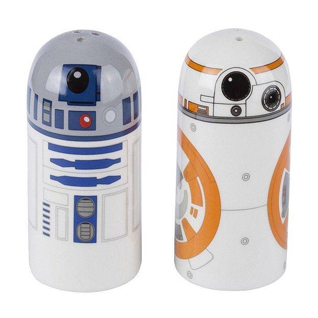 Wars Salz- und Pfefferstreuer (R2-D2 & BB-8)