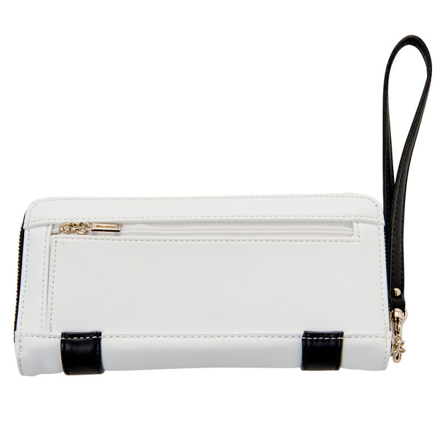 Guess Portemonnaie Exie SLG White Multi