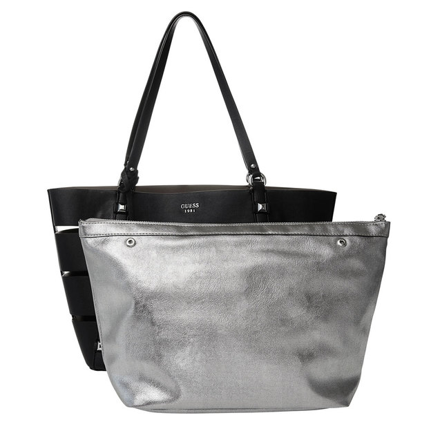 Guess Handtasche Tote Exie Black