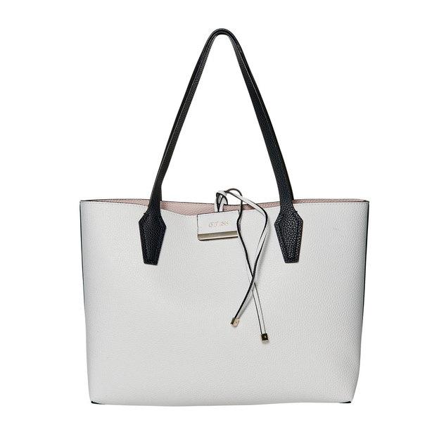 Guess Handtasche Bobbi Wendbar White Multi