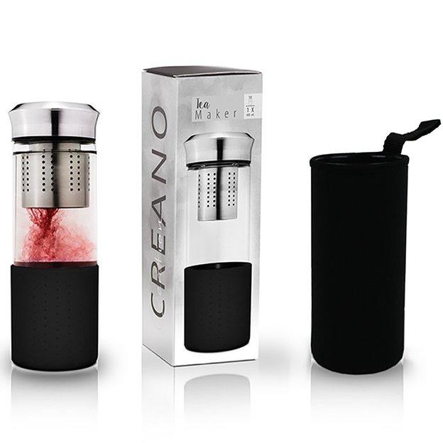 Tea Maker de Creano avec housse - noir