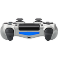 Sony Playstation PS 4 Controller silber