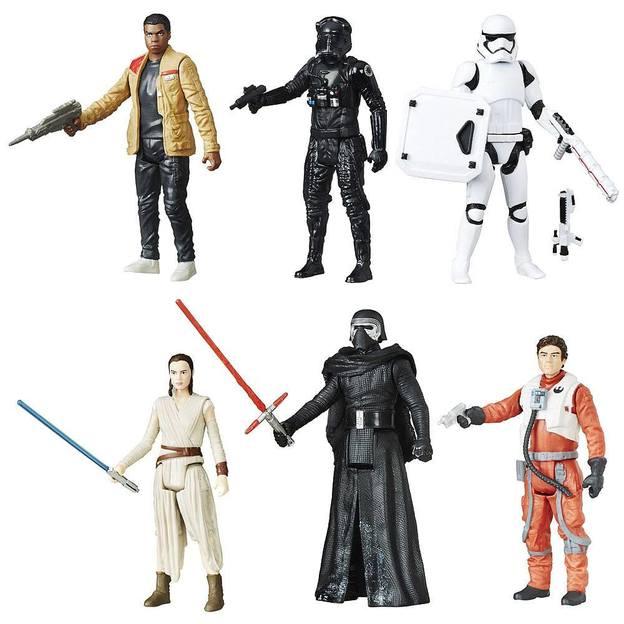 Star Wars Actionfiguren 6er-Pack - exklusives Battle Pack