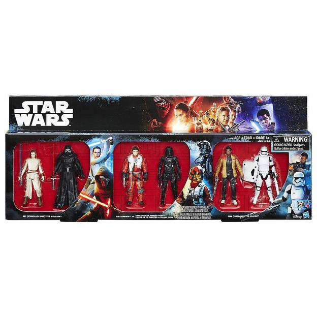Star Wars Pack de 6 figurines Episode VII