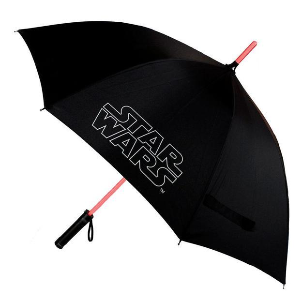 Star Wars Lichtschwert Regenschirm mit Leuchtfunktion