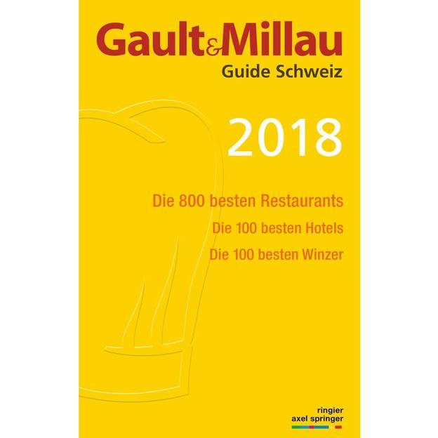 Schweizer Gault&Millau Guide 2018