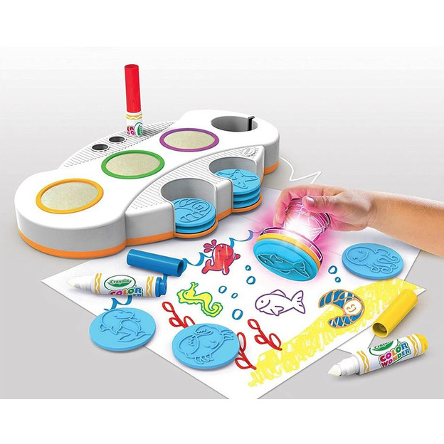 Color Wonder Light Up Stamper - magische Stempelfarbe