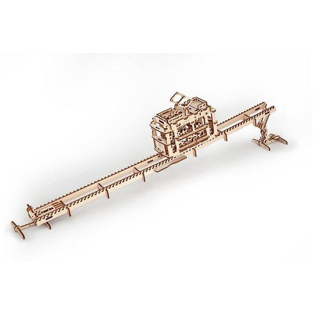 Holzpuzzle - Zahnradbahn