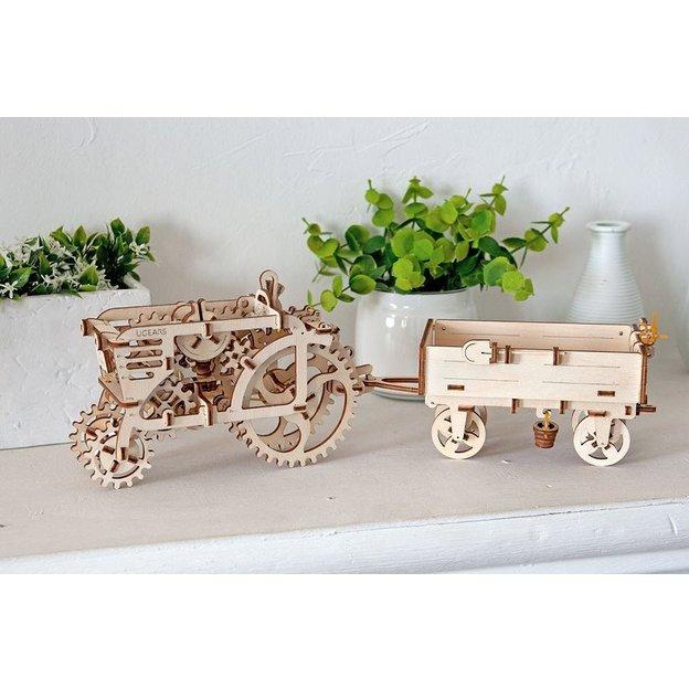 Holzpuzzle - Ackerwagen