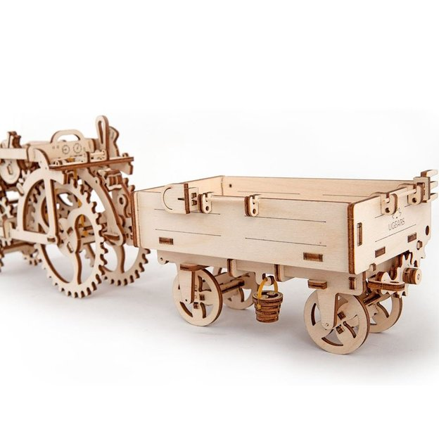 Puzzle 3D Remorque des champs en bois Ugears