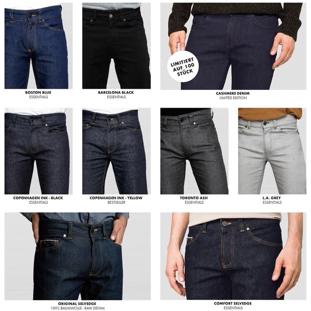 Geschenkgutschein für eine Selfnation Jeans oder Hose nach Mass