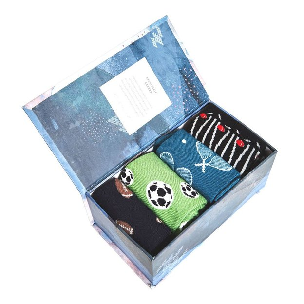 Thought Geschenkbox Bambus Socken für Männer