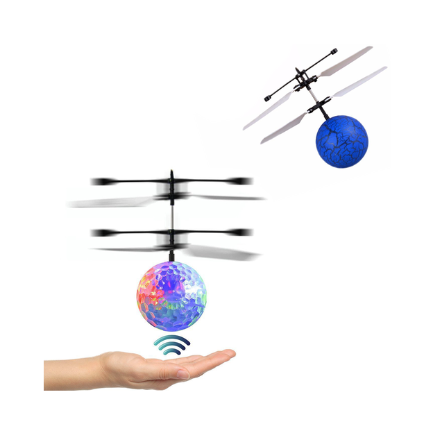 Balle volante hélicoptère avec senseur