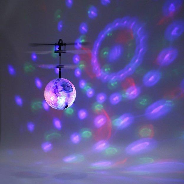 LED Flying Ball - Selbstfliegender Mini Helikopter mit Sensor