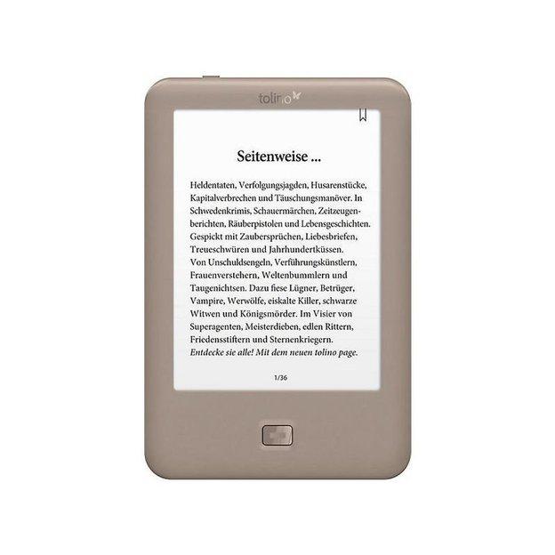 """Tolino Page eBook-Reader 6"""""""