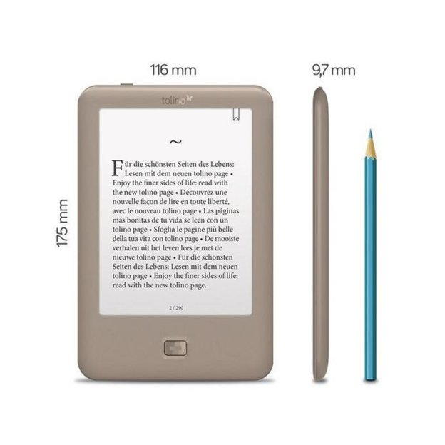 Tolino Page eBook-Reader 6""