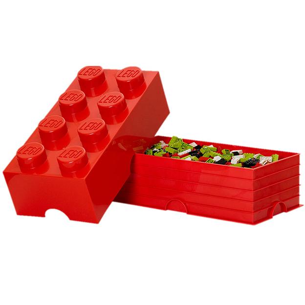 LEGO Aufbewahrungsbox Room Copenhagen, rot