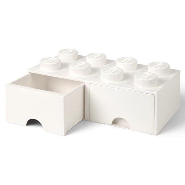 LEGO Aufbewahrungsbox Room Copenhagen mit Schubladen, weiss