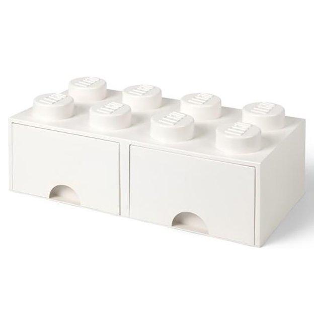 LEGO Boîte avec tiroirs Room Copenhagen, blanche