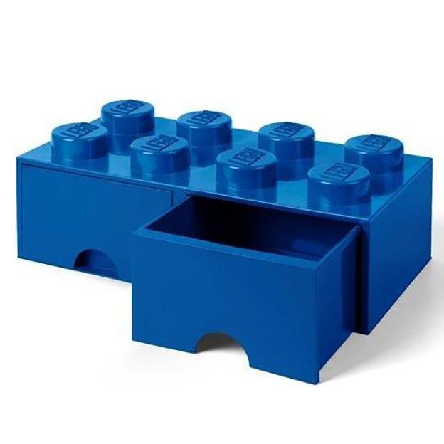LEGO Boîte avec tiroirs Room Copenhagen, bleu foncé