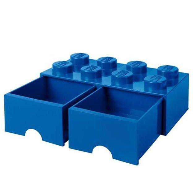 LEGO Aufbewahrungsbox Room Copenhagen mit Schubladen, dunkelblau
