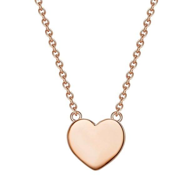 Halskette Herz Leonie roségold