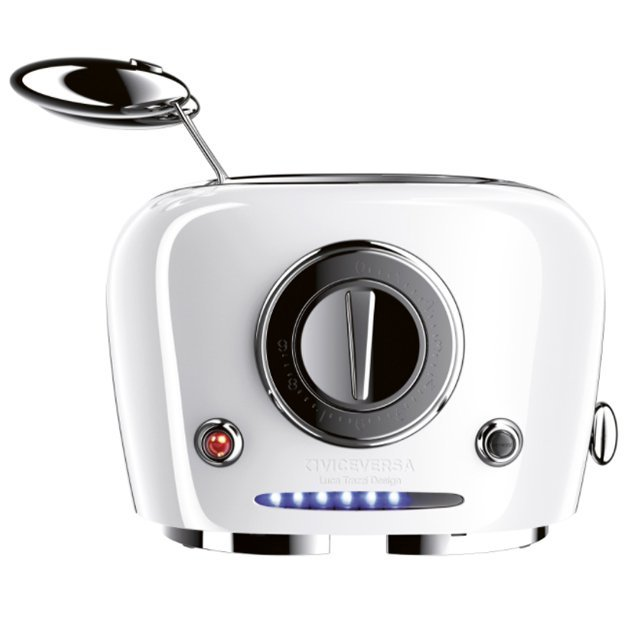 Toaster TIX avec pince à sandwich VICEVERSA - blanc