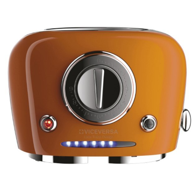 TIX POP UP-Toaster, orange VICEVERSA