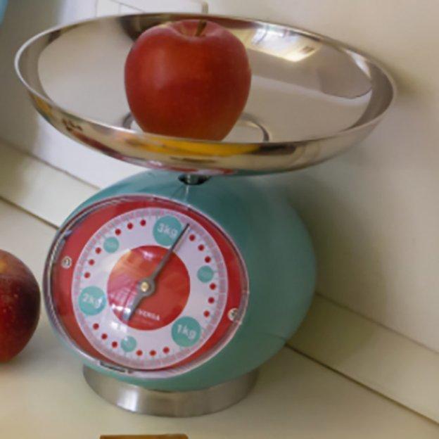 Balance de cuisine TIX VICEVERSA, turquoise