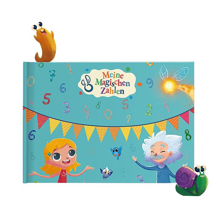 MY MAGIC STORY Personalisiertes Kinderbuch Meine magischen Zahlen 0-10 Jahre