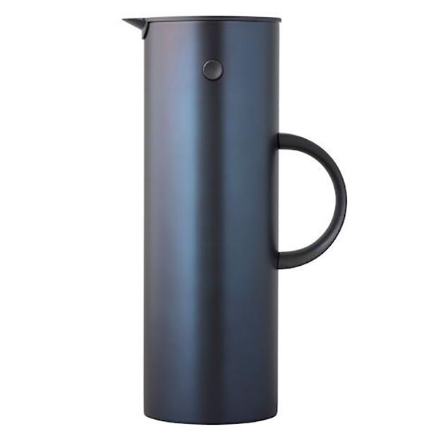 Isolierkanne classic, steel - dark blue, metallic STELTON