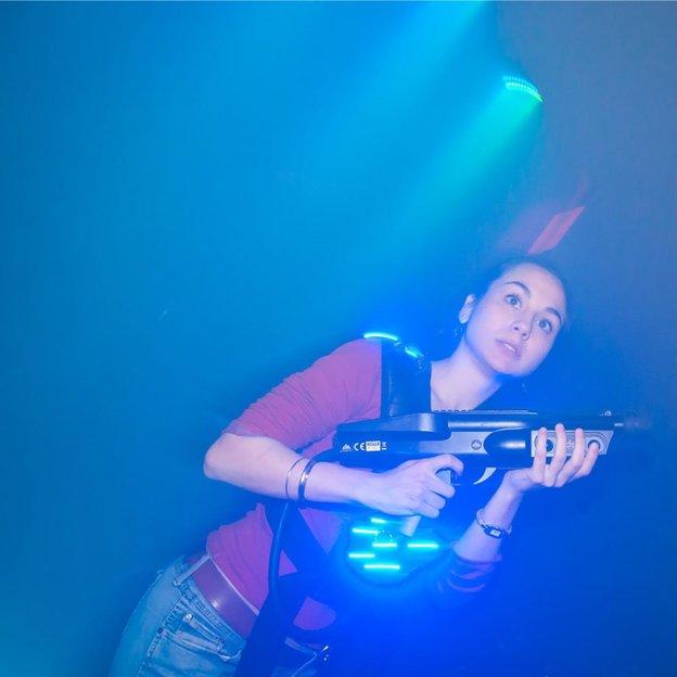 Lasertag spielen in der Ostschweiz (für 1 Person)