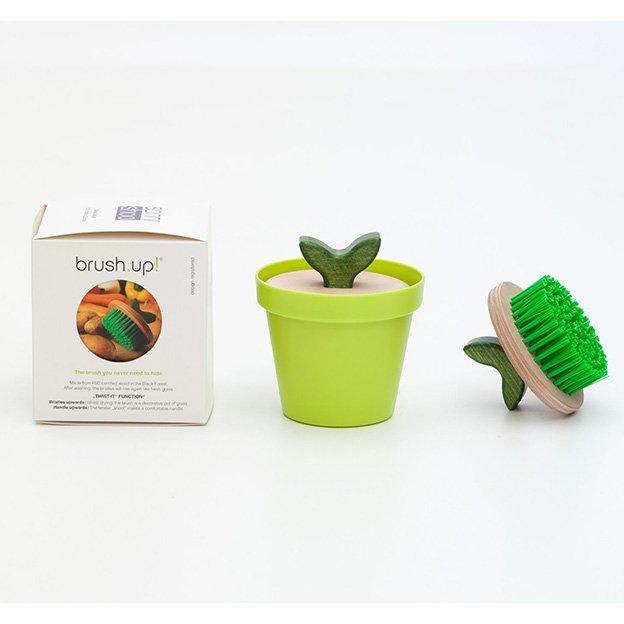 Gemüsebürste in trendigem grün SANNI SHOO