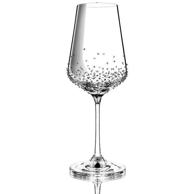 Weinglas Bohemian Grace Swarovski Kristalle 350ml 2-er Set Amon