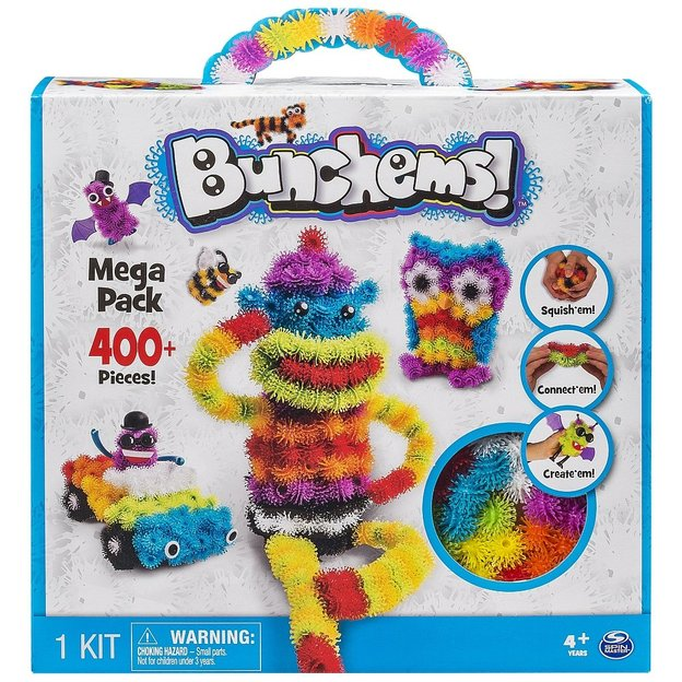 Spinmaster Bunchems Mega Pack 400+