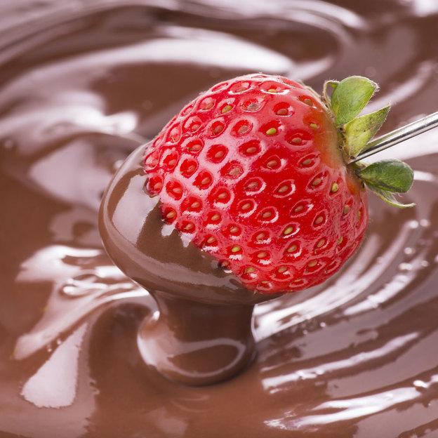 Schoggi-Fondue in der Schokoladenfabrik des Glücks (für 2 Personen)