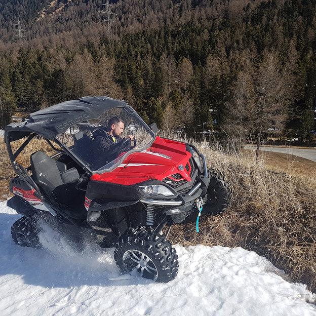 Geführte 4*4 Buggy Tour zum Berninapass (für 1 oder 2 Personen)