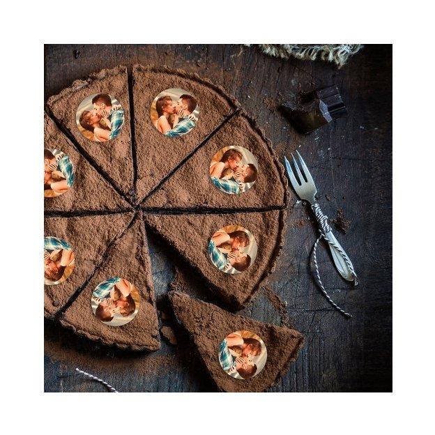 Personalisierbare Muffinaufleger Ø 5 cm im Set 15 Stück
