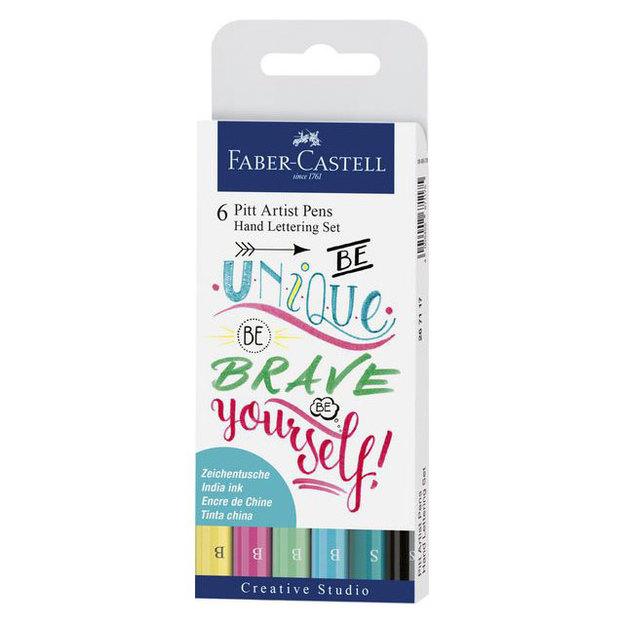 FABER-CASTELL PITT ArtistPen Handlettering Farben