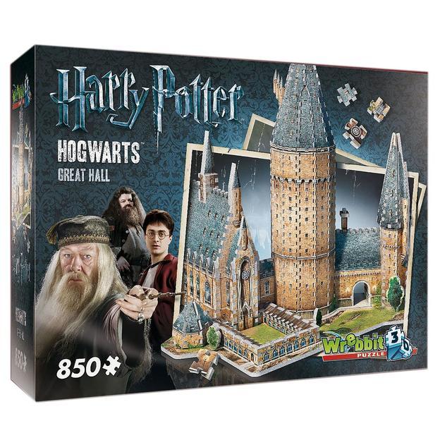 Puzzle 3D Harry Potter Poudlard La grande salle Webbrit