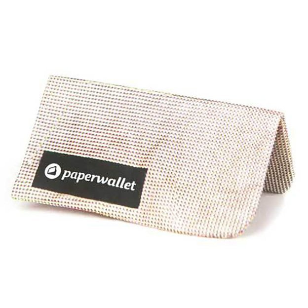 Paperwallet Clutch Wallet - Azumi Dots