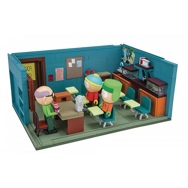 South Park Bauset Mr. Garrison's Schulzimmer