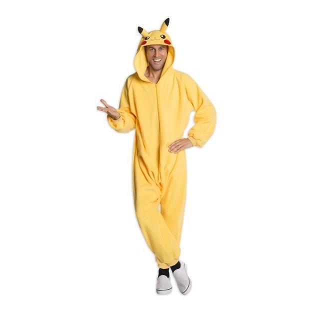 Pokémon Kostüm Pikachu für Erwachsene Grösse S